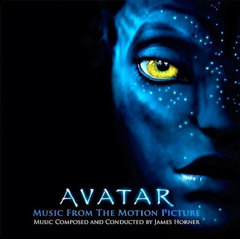 James Horner ‎– Avatar (Music From The Motion Picture) : Music On Vinyl ‎– MOVATM117 Series: At The Movies – : 2 × Vinyl, LP, Limited Edition, Numbered, Blue With Silver Marble, 180g