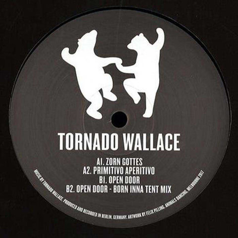 "Tornado Wallace ‎– EP For Animals Dancing : Animals Dancing ‎– ANIMALS 003 : Vinyl, 12"", 33 ⅓ RPM, EP"