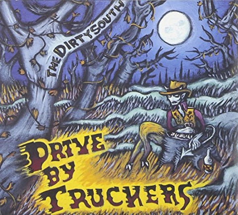 Drive-By Truckers ‎– The Dirty South : New West Records ‎– NW5007 : 2 × Vinyl, LP, Album, Limited Edition, Reissue, 180g, Blue Clear