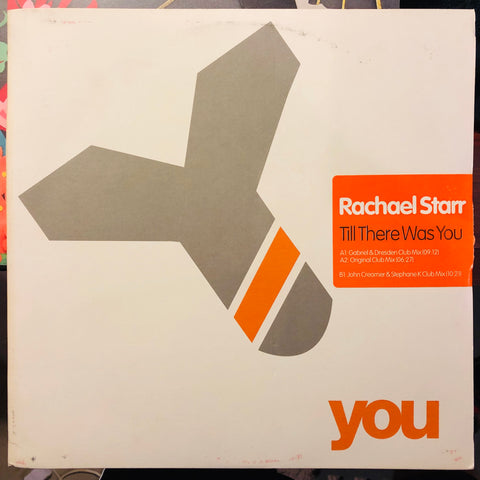 Rachael Starr ‎– Till There Was You : You ‎– YOU 028-6 : Vinyl, 12""