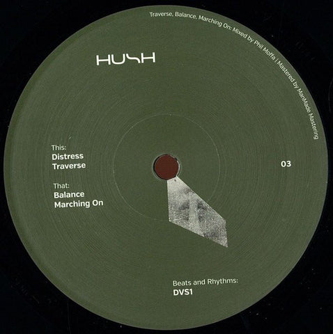 DVS1 ‎– Distress : HUSH (6) ‎– HUSH 03 : Vinyl, 12""