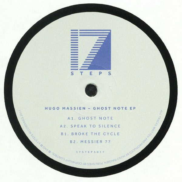 "Hugo Massien ‎– Ghost Note EP : 17 Steps ‎– 17STEPS017 : Vinyl, 12"", 33 ⅓ RPM, EP"