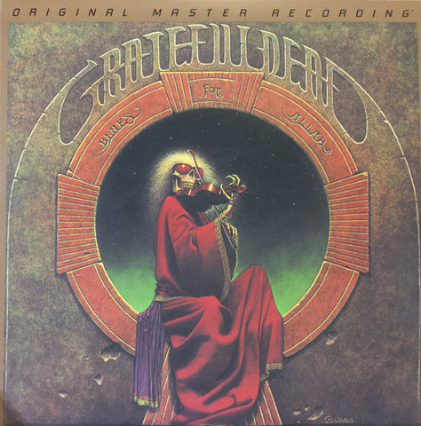 "Grateful Dead* ‎– Blues For Allah : Mobile Fidelity Sound Lab ‎– MFSL 2-483 Series: Gain 2™ Ultra Analog 45RPM 180g Series – : 2 × Vinyl, 12"", 45 RPM, Album, Limited Edition, Numbered, Reissue, Remastered, 180g, Gatefold"