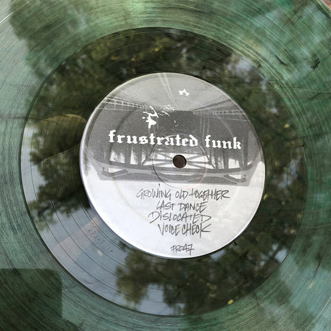 "214 ‎– Everything Changed : Frustrated Funk ‎– FR047 : Vinyl, 12"", 33 ⅓ RPM, Green"