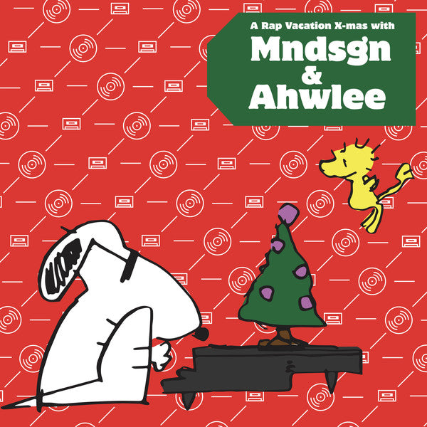 mndsgn & Ahwlee ‎– A Rap Vacation X-Mas W/ Mndsgn & Ahwlee : Rap Vacation ‎– RV001 : Vinyl, LP, Limited Edition, Red & Green Vinyl