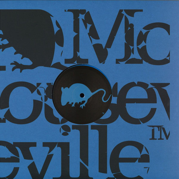 "CirezD* ‎– The Accuser : Mouseville ‎– Mouse023 : Vinyl, 12"", 33 ⅓ RPM, Limited Edition, Blue"