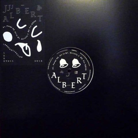 "J. Albert ‎– Strictly J : 1080p ‎– 1080V011 : Vinyl, 12"", 33 ⅓ RPM, EP"