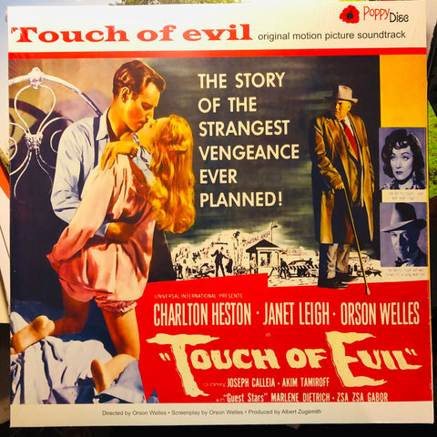 Henry Mancini - Touch Of Evil (Original Motion Picture Soundtrack) - Poppydisc - POPPYLP020 - LP, RE