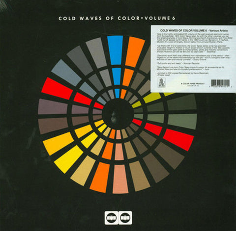 Various ‎– Cold Waves Of Color Volume 6 : Color Disc ‎– COLOR LP 10 Series: Cold Waves Of Color – Volume 6 : Vinyl, LP, Compilation, Limited Edition, Remastered