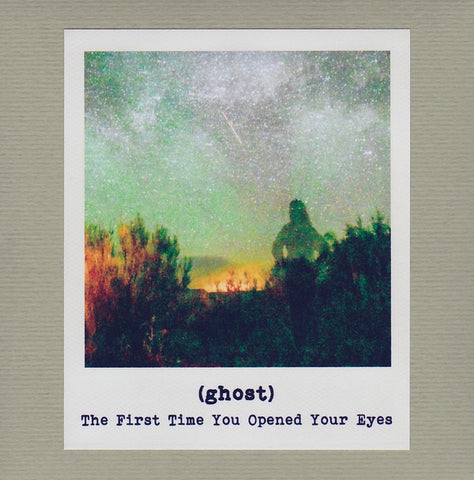 (ghost) ‎– The First Time You Opened Your Eyes : Sound In Silence ‎– sis031 : CDr, Album, Limited Edition, Numbered
