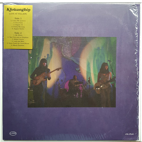 Khruangbin ‎– Live At Villain : Lion Music (6) ‎– LM-LP508 : Vinyl, LP, Limited Edition, Unofficial Release, Stereo, Red