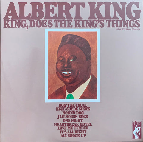 Albert King ‎– King, Does The King's Things : Stax ‎– CR00324 Series: Vinyl Me, Please. Classics – C037 : Vinyl, LP, Album, Club Edition, Reissue, Remastered, 180g