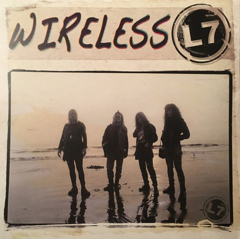 L7 ‎– Wireless : Easy Action ‎– EARS112 : Vinyl, LP, Limited Edition, Yellow