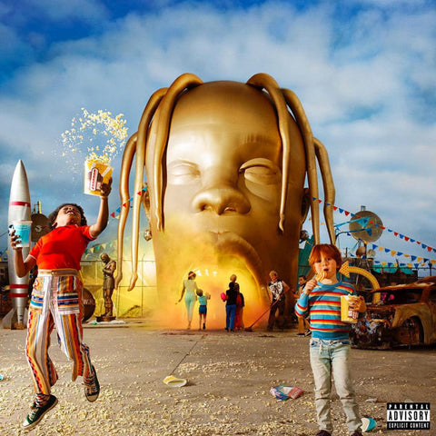 Travis Scott (2) ‎– Astroworld : Epic ‎– none, Cactus Jack ‎– none, Grand Hustle ‎– none : 2 × Vinyl, LP, Limited Edition, Purple