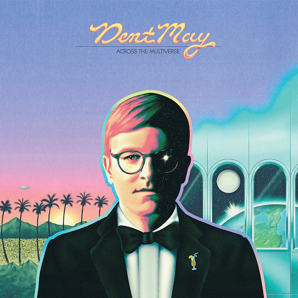 Dent May ‎– Across The Multiverse : Carpark Records ‎– CAK123 : Vinyl, LP, Club Edition, Limited Edition, Numbered, Blue/Lavender Swirl Vinyl