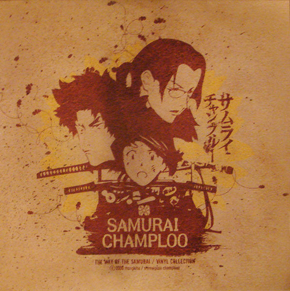 "Various ‎– Samurai Champloo - The Way Of The Samurai / Vinyl Collection : Ample Soul ‎– AS044-1 : 3 × Vinyl, 12"", 33 ⅓ RPM, Compilation, Limited Edition, Reissue"