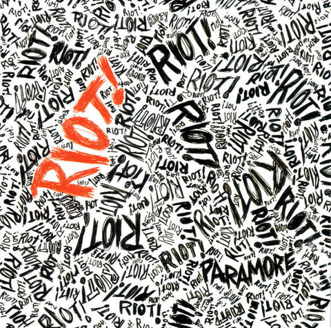 Paramore ‎– Riot! : Fueled By Ramen ‎– 159612-1 : Vinyl, LP, Album, Limited Edition, Orange  Country: USA, Canada & UK