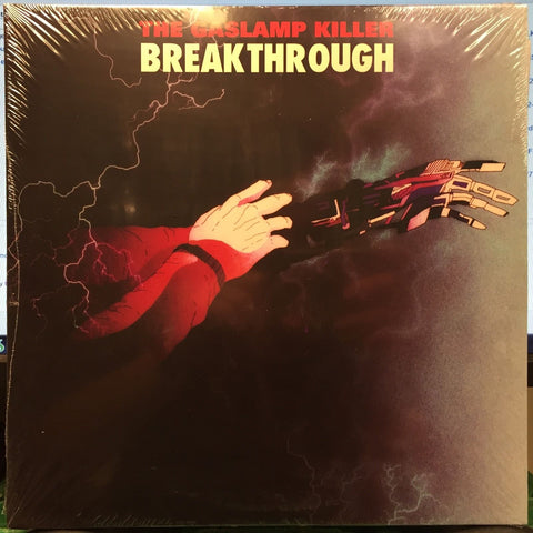 "The Gaslamp Killer ‎– Breakthrough : Brainfeeder ‎– GLK001 : 2 × Vinyl, 10"", 33 ⅓ RPM, Album, Reissue, Gatefold"