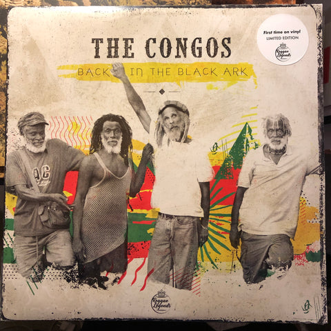 The Congos - Back In The Black Ark : Utopia UTOV002 - 2xLP, Vinyl