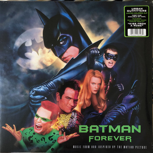 Various ‎– Batman Forever (Original Music From The Motion Picture) : Atlantic ‎– R1 82759 : 2 × Vinyl, LP, Album, Limited Edition, Purple and Green