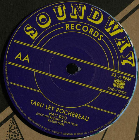 "Steve Monite, Tabu Ley Rochereau ‎– Only You / Hafi Deo : Soundway Records Ltd. ‎– SNDW12025 : Vinyl, 12"", 33 ⅓ RPM, 45 RPM"