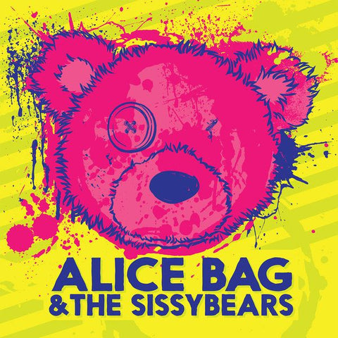 Bag, Alice & The Sissybears - Reign of Fear b/w XX : Don Giovanni SI-DG-149 - Yellow Vinyl LP