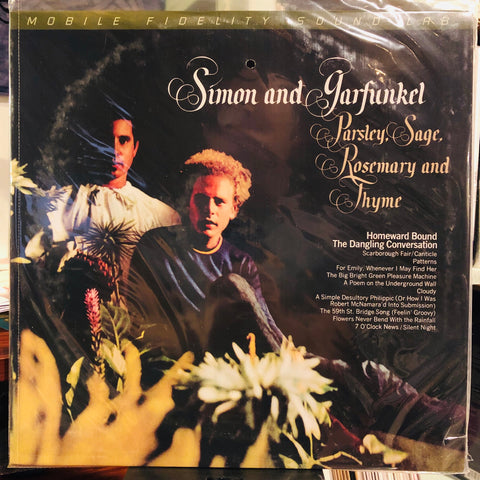 Simon & Garfunkel ‎– Parsley, Sage, Rosemary And Thyme : Mobile Fidelity Sound Lab ‎– MFSL 1-484, Columbia ‎– MFSL 1-484, Columbia ‎– 88985444481 : Vinyl, LP, Album, Numbered, Reissue, Remastered, Stereo, 180g