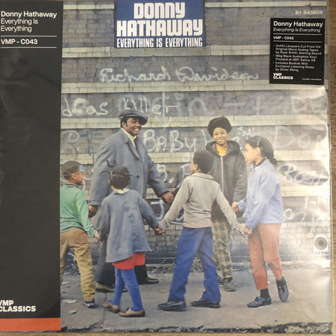 Donny Hathaway ‎– Everything Is Everything : ATCO Records ‎– R1 643609, ATCO Records ‎– 081227905767 Series: Vinyl Me, Please. Classics – C043 : Vinyl, LP, Album, Club Edition, Reissue, Remastered, Mono, 180g