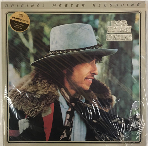 "Bob Dylan ‎– Desire : Mobile Fidelity Sound Lab ‎– MFSL 2-416, : Original Master Recording – , Gain 2™ Ultra Analog 45RPM 180g Series – : 2 × Vinyl, 12"", 45 RPM, Album, Limited Edition, Numbered, Reissue, Remastered, 180g, Gatefold, SuperVinyl"