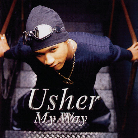 Usher ‎– My Way : LaFace Records ‎– LFL-6043-1 : Vinyl, LP, Album, Limited Edition, Reissue, Blue Clear Vinyl