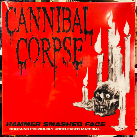 "Cannibal Corpse ‎– Hammer Smashed Face : Metal Blade Records ‎– 3984-15642-1 : Vinyl, 12"", Single Sided, EP, Etched, Limited Edition"