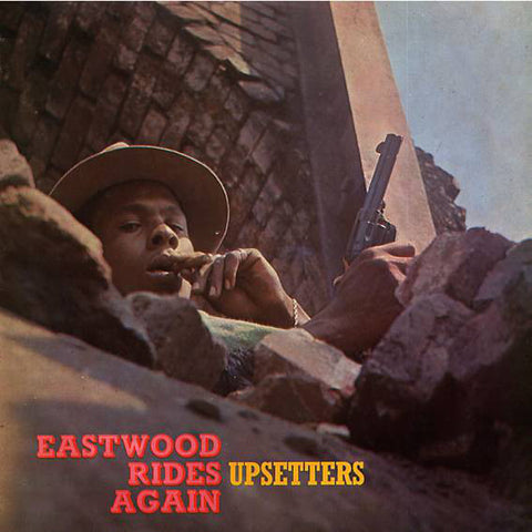 Upsetters* ‎– Eastwood Rides Again : Trojan Records ‎– TBL 1032 : Vinyl, LP, Album, Reissue, Orange w/ Red Splatter
