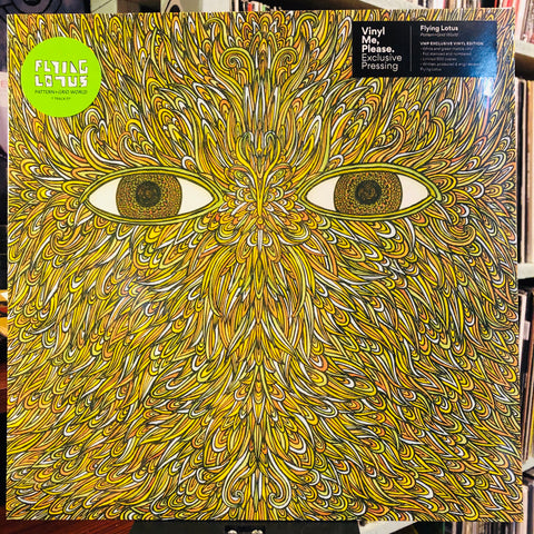 "Flying Lotus ‎– Pattern+Grid World : Warp Records ‎– WAP308 Series: Vinyl Me, Please. Exclusive Pressing – : Vinyl, 12"", 33 ⅓ RPM, EP, Club Edition, Limited Edition, Numbered, White and Green Marble"