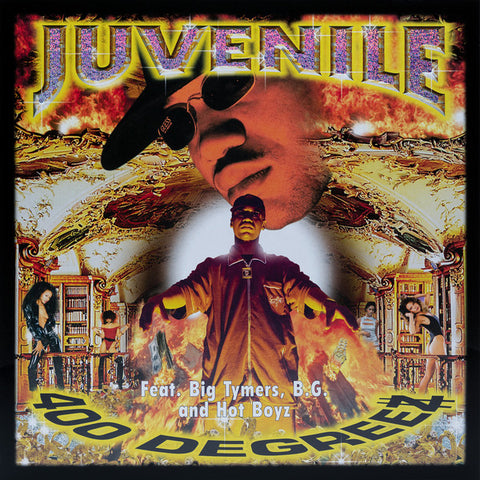 Juvenile (2) ‎– 400 Degreez : Cash Money Records ‎– UD-53162, UMe ‎– B0029344-01 Series: Vinyl Me, Please. Rap & Hip Hop – RH017 : 2 × Vinyl, LP, Club Edition, 180g, transparent yellow