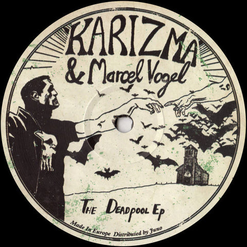 "Karizma & Marcel Vogel ‎– The Deadpool EP : Lumberjacks In Hell ‎– lih021 : Vinyl, 12"", EP"