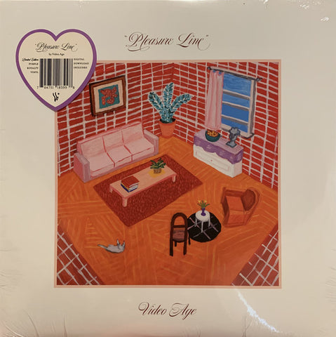 Video Age ‎– Pleasure Line : Winspear ‎– WSP034 : Vinyl, LP, Limited Edition, Stereo, Purple Royalty