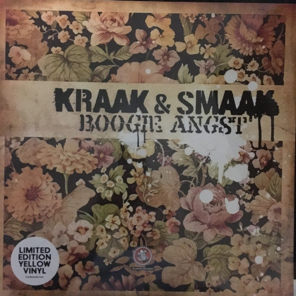 Kraak & Smaak ‎– Boogie Angst : Jalapeno Records ‎– JAL44V : 2 × Vinyl, LP, Album, Limited Edition, Reissue, Yellow
