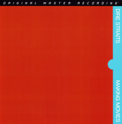 "Dire Straits ‎– Making Movies : Mobile Fidelity Sound Lab ‎– MFSL 2-468 : 2 × Vinyl, 12"", 45 RPM, Album, Numbered, Reissue, Remastered, Special Edition, Stereo, Gatefold, 180g"