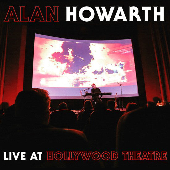 Alan Howarth ‎– Alan Howarth Live At The Hollywood Theater : Wyrd War ‎– WW10 : Vinyl, LP, Album, Limited Edition