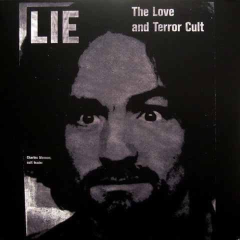 Charles Manson ‎– Lie, The Love and Terror Cult : ESP-Disk' ‎– ESP-2003 : Vinyl, LP, Album, Reissue, Red Translucent