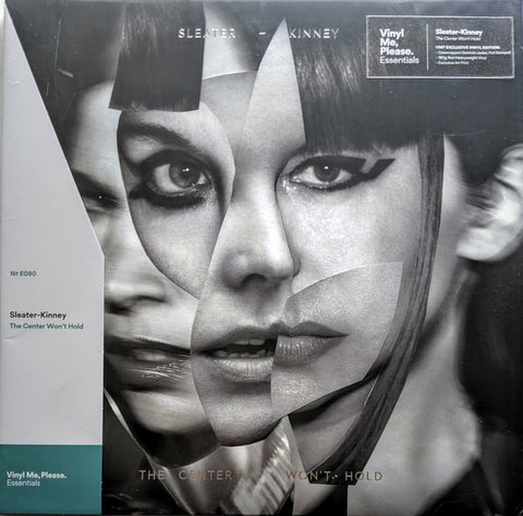 Sleater-Kinney ‎– The Center Won't Hold : Mom + Pop ‎– MP431 Series: Vinyl Me, Please. Essentials – E080 : Vinyl, LP, Album, Club Edition, Red, 180g