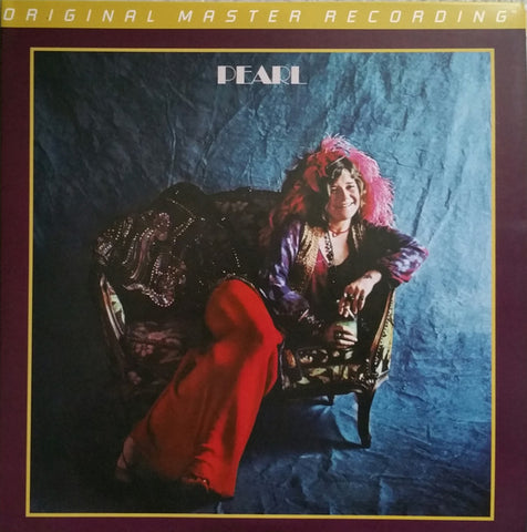 "Janis Joplin ‎– Pearl : Mobile Fidelity Sound Lab ‎– MFSL 2-454 : 2 × Vinyl, 12"", 45 RPM, Album, Limited Edition, Numbered, Reissue, Remastered, Gatefold"