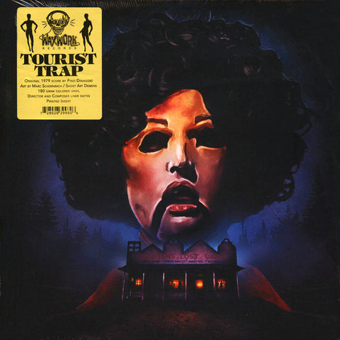 Pino Donaggio ‎– Tourist Trap (Original Motion Picture Soundtrack) : Waxwork Records ‎– WW014 : Vinyl, LP, Album, red w/black marble, 160g