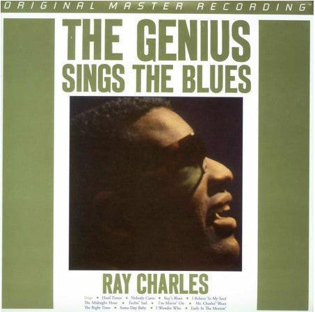 Ray Charles ‎– The Genius Sings The Blues : Mobile Fidelity Sound Lab ‎– MFSL 1-337 Series: Original Master Recording – , GAIN 2™ Ultra Analog LP 180g Series – : Vinyl, LP, Album, Limited Edition, Numbered, Reissue, Remastered