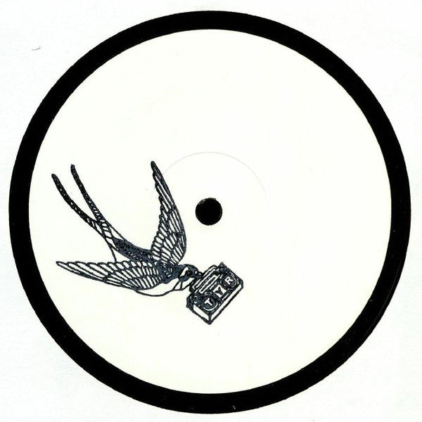 "Ghostwhip / Garneau ‎– Double G EP : Thirty Year Records ‎– TYR006 : Vinyl, 12"", 33 ⅓ RPM, EP, White Label"