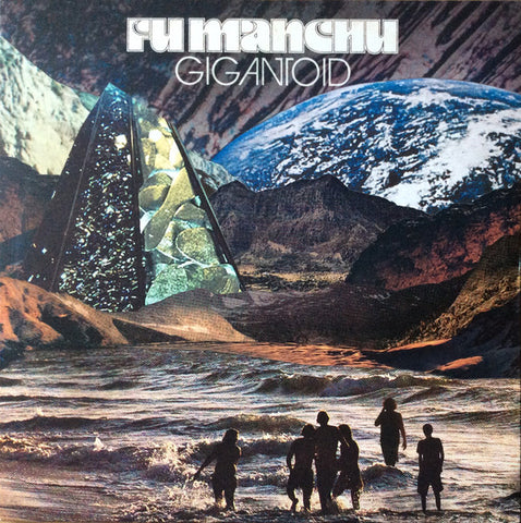 Fu Manchu ‎– Gigantoid : At The Dojo Records ‎– ATD008 : Vinyl, LP, Album, Repress, Silver