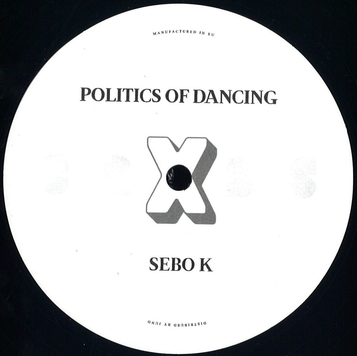 "Politics Of Dancing Cab Drivers Sebo K  : Politics Of Dancing X : PODCROSS003 - 12"", Vinyl"