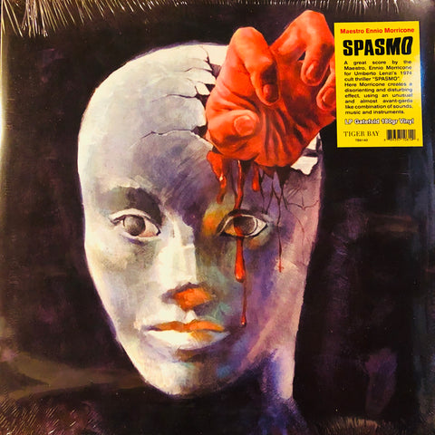 Ennio Morricone ‎– Spasmo (Original Motion Picture Soundtrack) : Tiger Bay ‎– TB6140 : Vinyl, LP, Album, Reissue, Remastered, 180g Gatefold