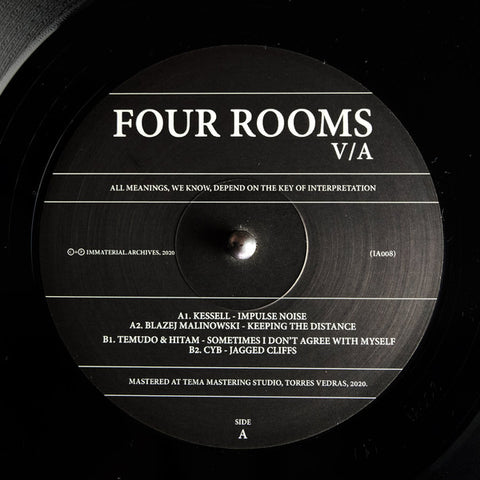 Various ‎– Four Rooms : Immaterial.Archives ‎– IA008 : Vinyl, 12""