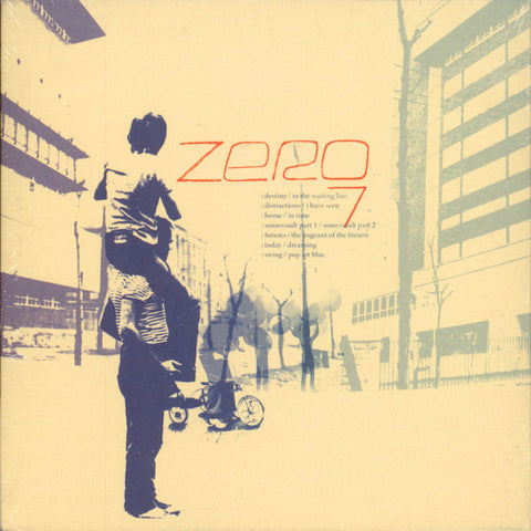 "Zero 7 ‎– Zero 7 : New State Music ‎– NEW229, New State Music ‎– 885012032382 : 7 × Vinyl, 7"", Compilation  Box Set, Limited Edition"